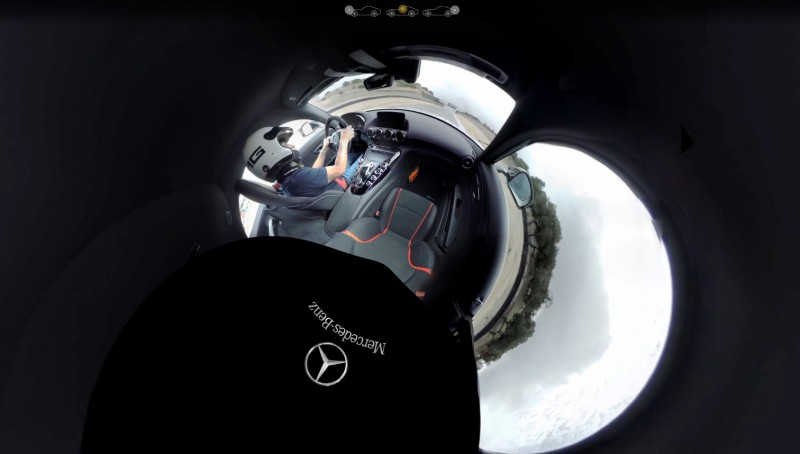 Mercedes-AMG GT Stars in Two Trippy Virtual-Reality Track Videos 28