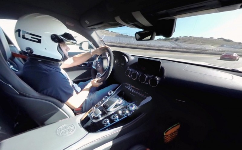 Mercedes-AMG GT Stars in Two Trippy Virtual-Reality Track Videos 29
