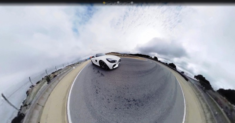 Mercedes-AMG GT Stars in Two Trippy Virtual-Reality Track Videos 6