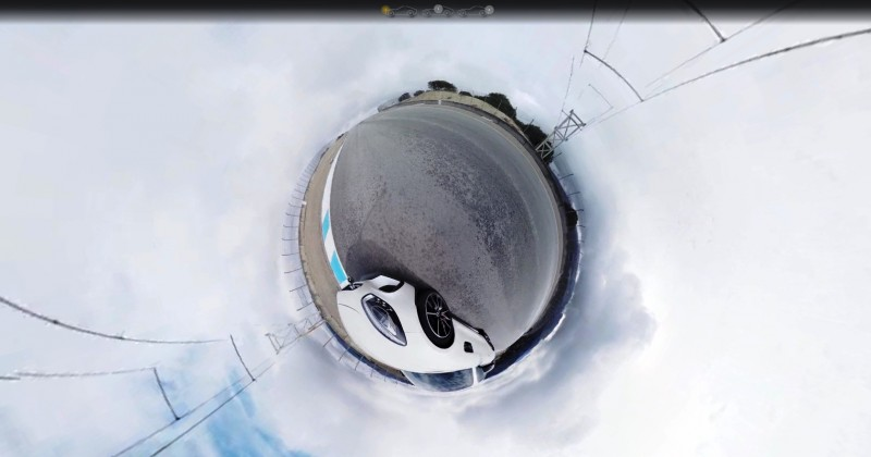 Mercedes-AMG GT Stars in Two Trippy Virtual-Reality Track Videos 8