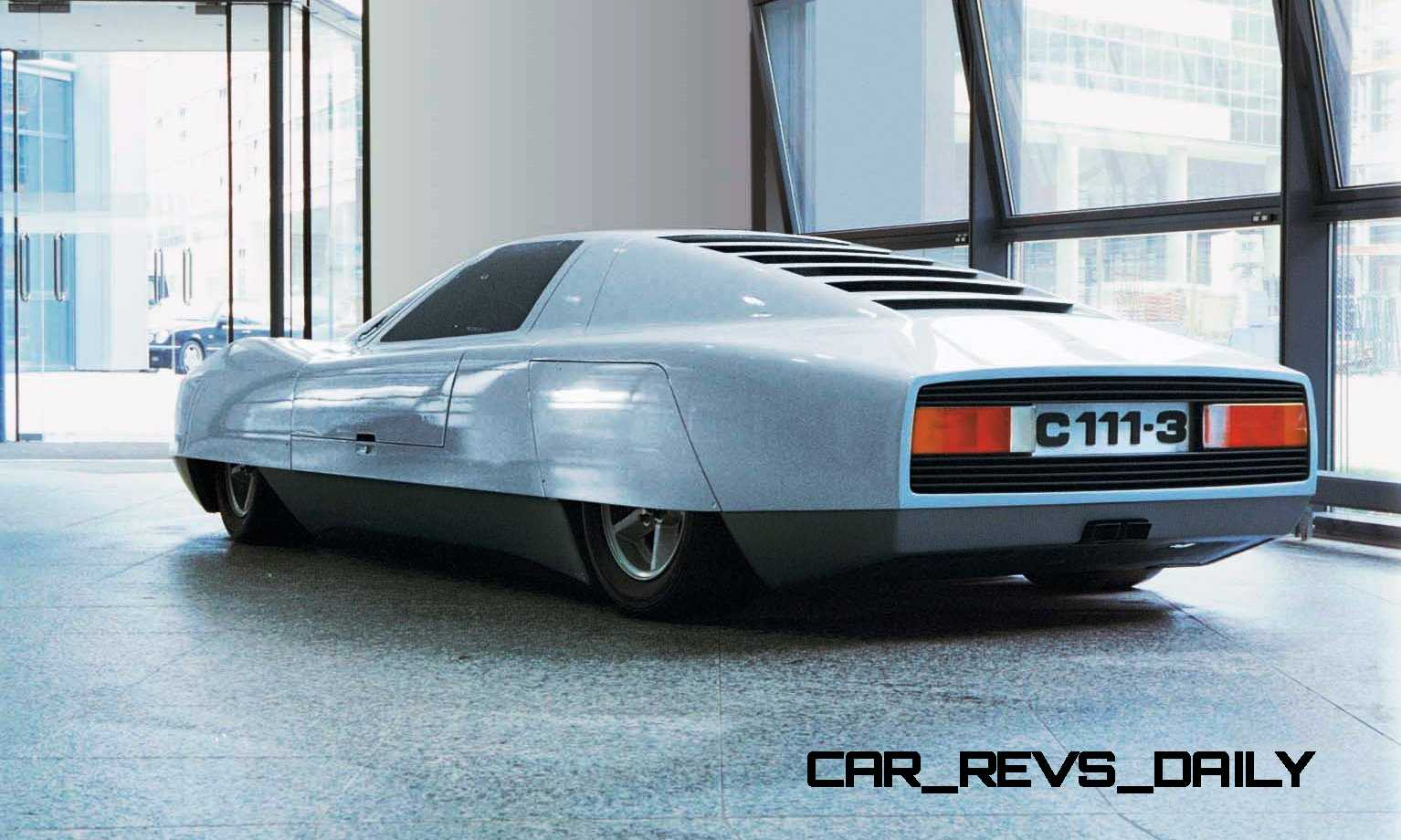 1977 mercedes benz c111 iii for Mercedes benz gas chambers