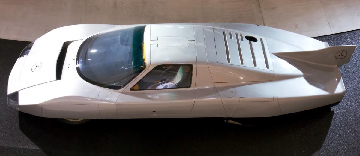 Mercedes C111-III2 Wing 7