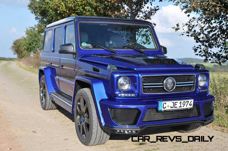 Mercedes G-Class Widebody by German Special Customs2