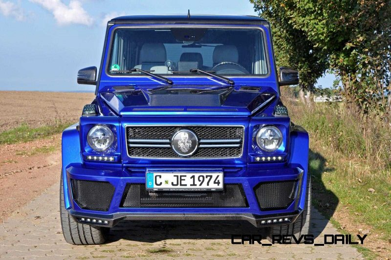 Mercedes G-Class Widebody by German Special Customs21