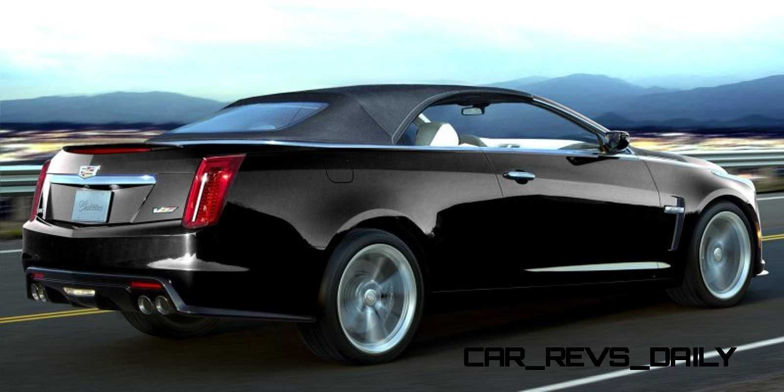 Cadillac Cts V Cabriolet Renderings | 2017 - 2018 Best Car Reviews