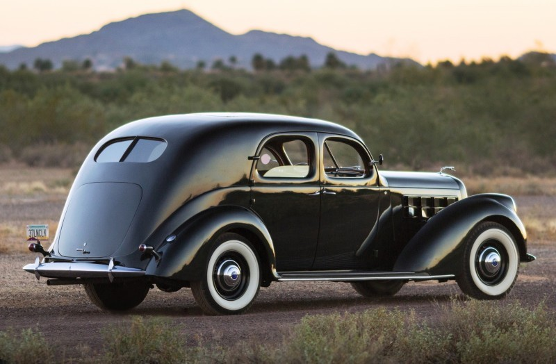 RM Arizona 2015 Preview - 1937 Lincoln Model K Two-Window V12 Sedan 2