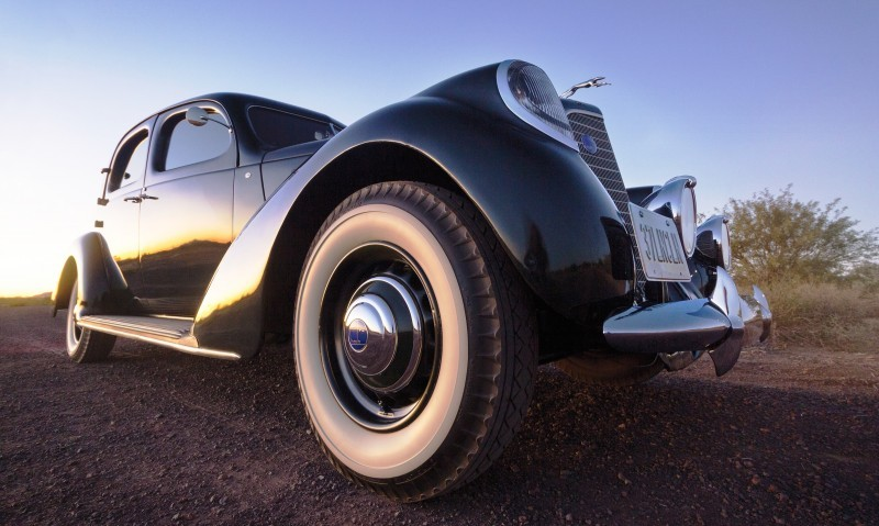 RM Arizona 2015 Preview - 1937 Lincoln Model K Two-Window V12 Sedan 9