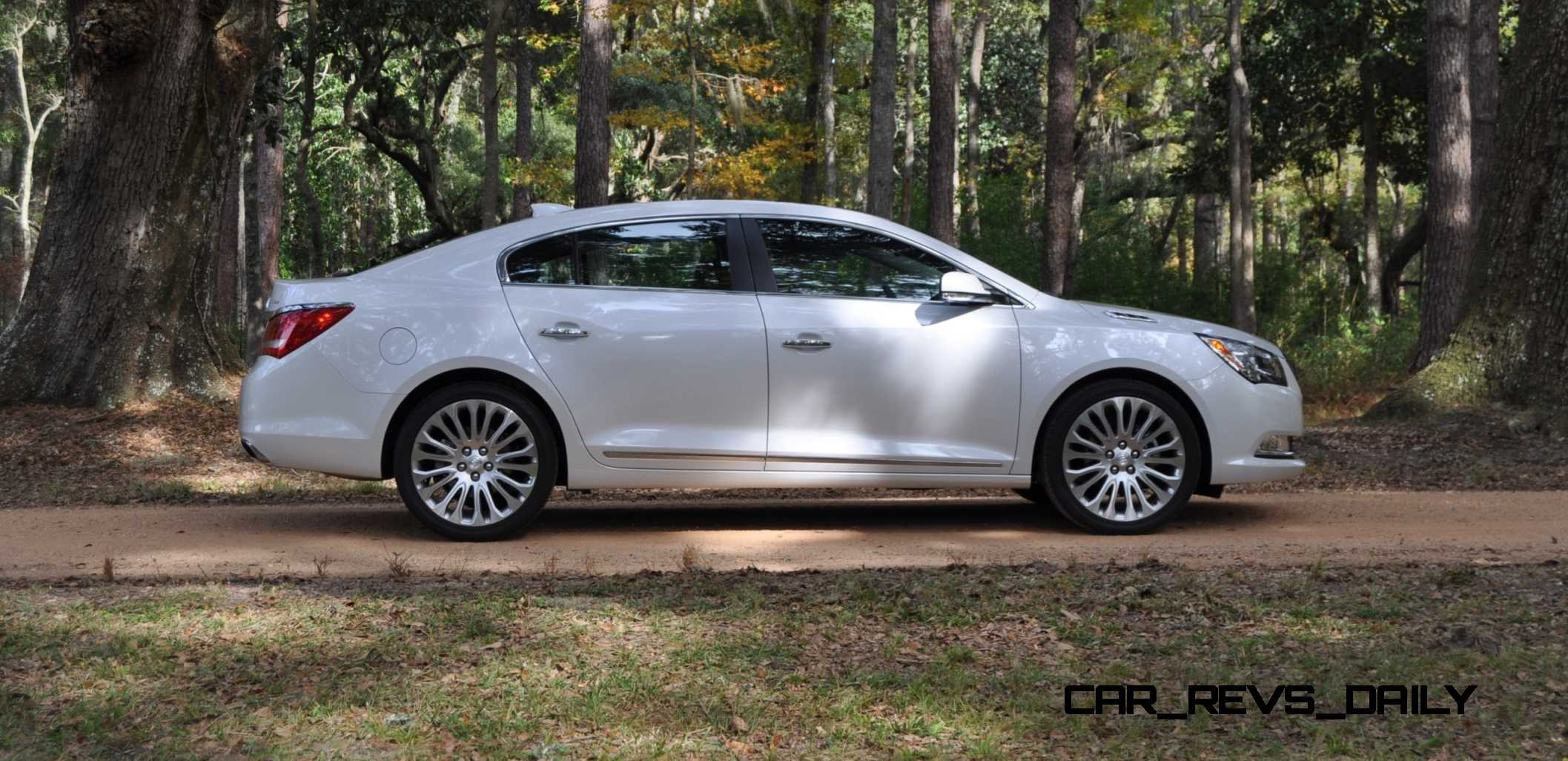 Creative Road Test Review  2015 Buick LaCrosse V6 Premium Is Deceptively