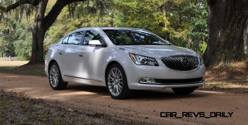 Road Test Review - 2015 Buick LaCrosse 108