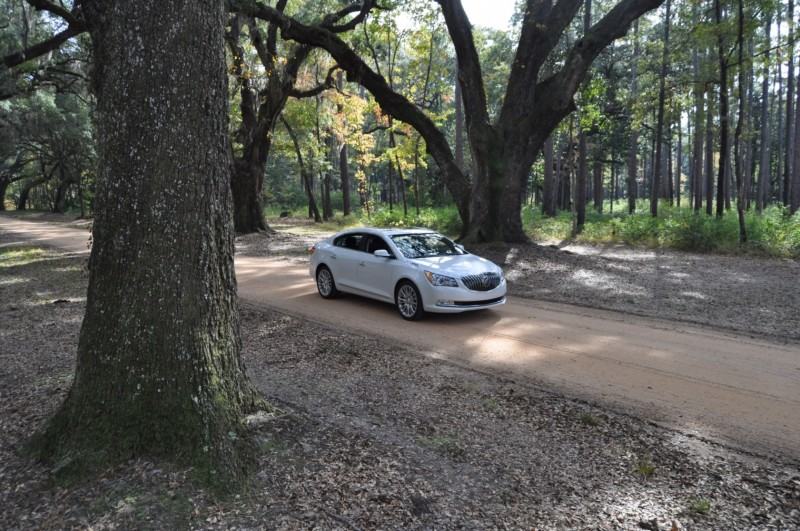 Road Test Review - 2015 Buick LaCrosse 14