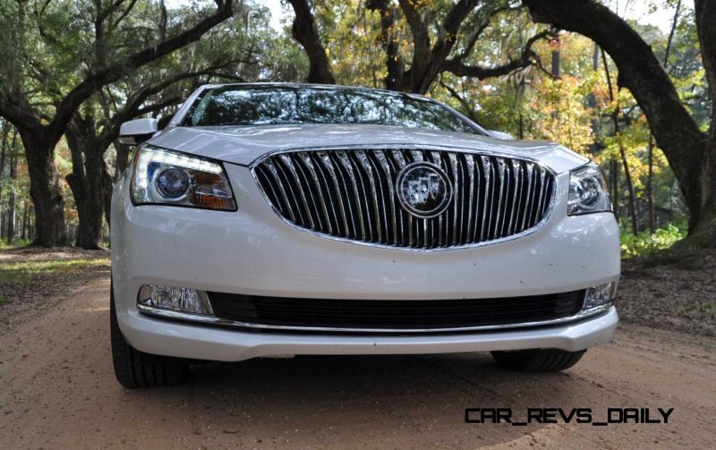 Road Test Review - 2015 Buick LaCrosse 25