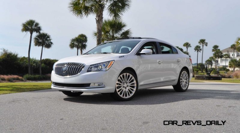 Road Test Review - 2015 Buick LaCrosse 39