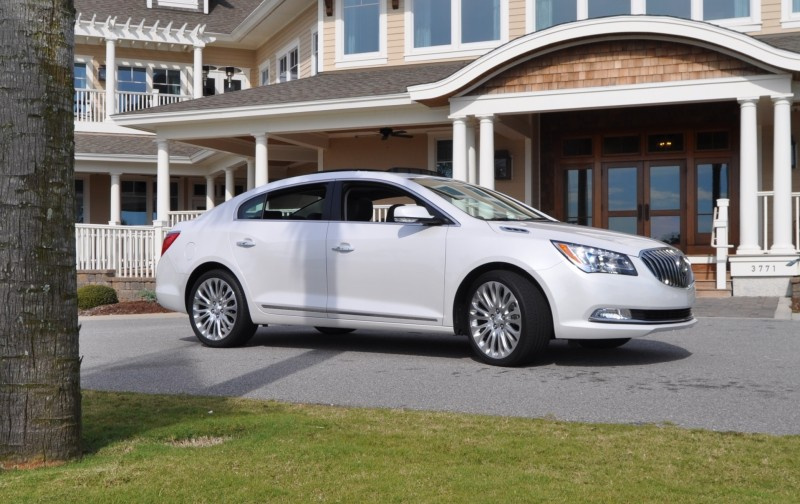 Road Test Review - 2015 Buick LaCrosse 50