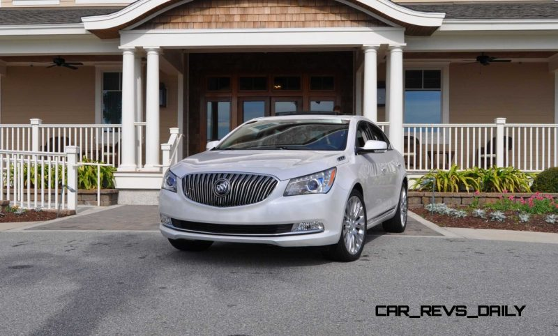 Road Test Review - 2015 Buick LaCrosse 96