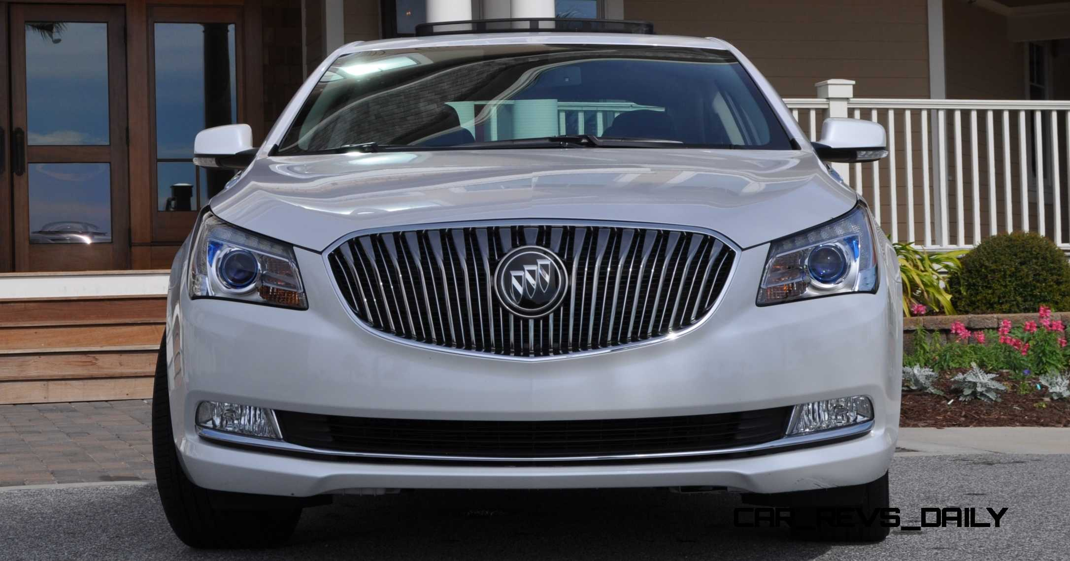 Simple Road Test Review  2015 Buick LaCrosse V6 Premium Is Deceptively