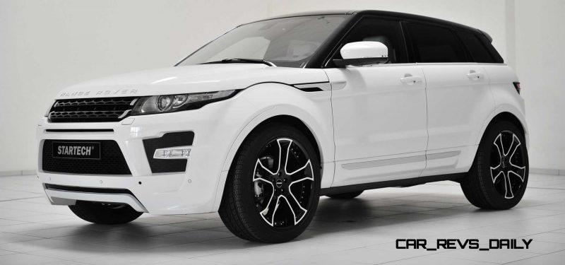 Six Custom BRABUS StarTech Range Rover Evoques Show Huge Style Gains 10