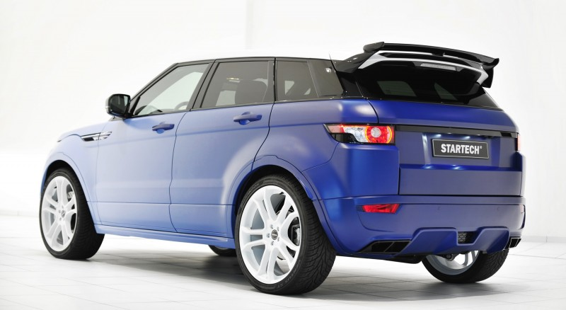 Six Custom BRABUS StarTech Range Rover Evoques Show Huge Style Gains 100