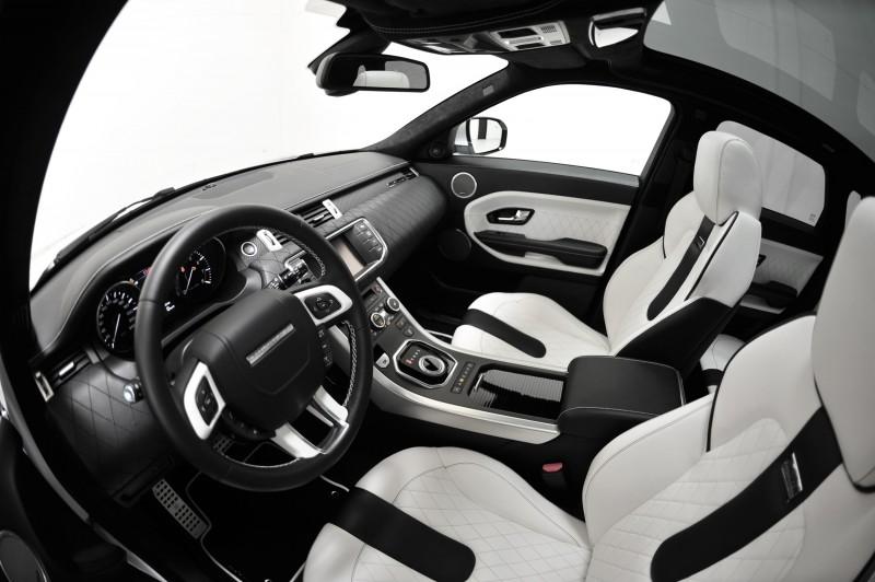 Six Custom BRABUS StarTech Range Rover Evoques Show Huge Style Gains 24