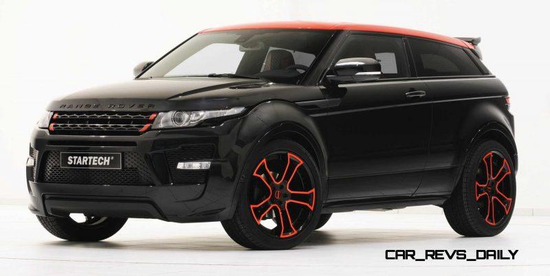 Six Custom BRABUS StarTech Range Rover Evoques Show Huge Style Gains 41