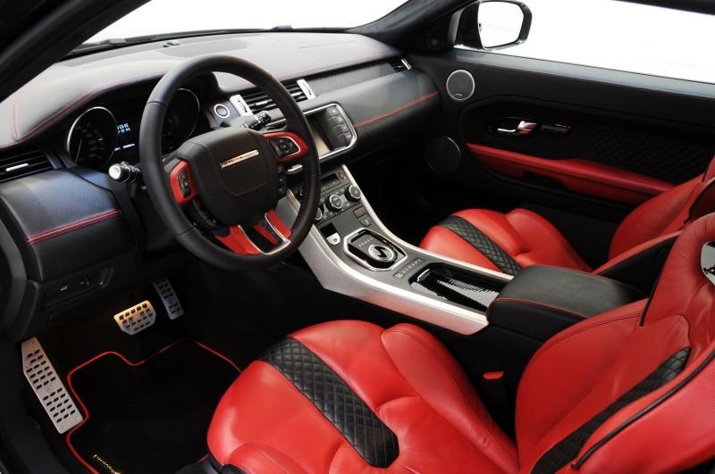 Six Custom BRABUS StarTech Range Rover Evoques Show Huge Style Gains 43