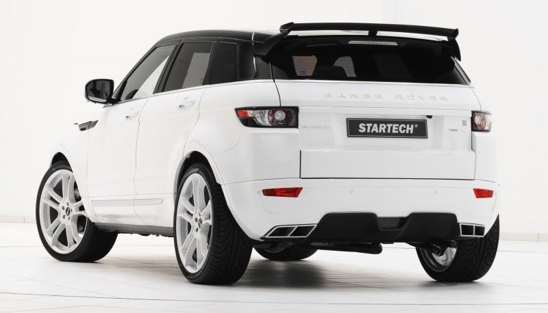 Six Custom BRABUS StarTech Range Rover Evoques Show Huge Style Gains 63