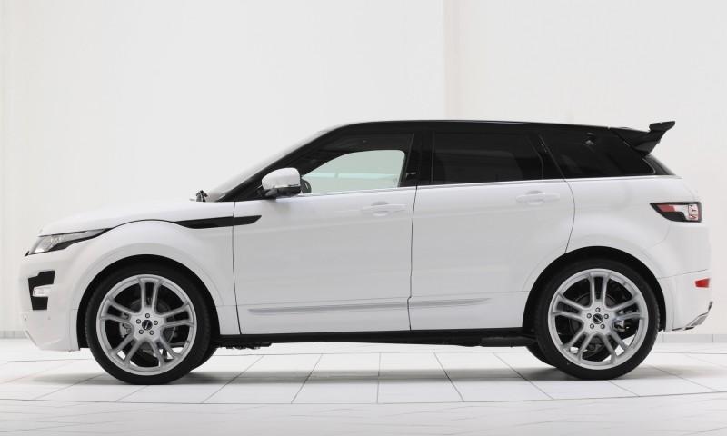 Six Custom BRABUS StarTech Range Rover Evoques Show Huge Style Gains 68
