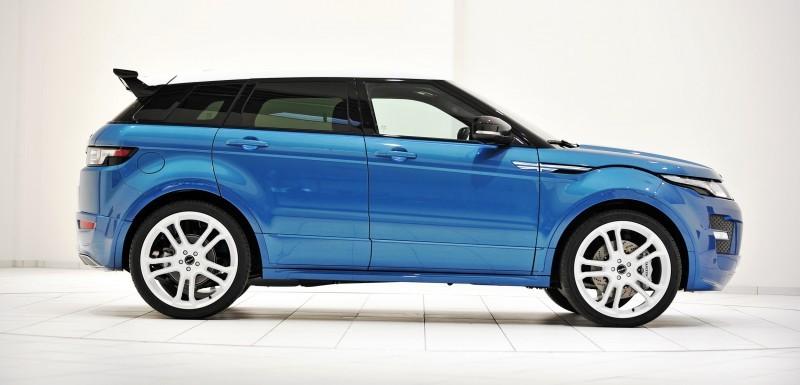 Six Custom BRABUS StarTech Range Rover Evoques Show Huge Style Gains 78