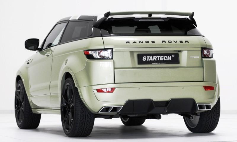 Six Custom BRABUS StarTech Range Rover Evoques Show Huge Style Gains 81