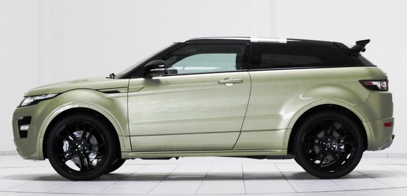 Six Custom BRABUS StarTech Range Rover Evoques Show Huge Style Gains 82