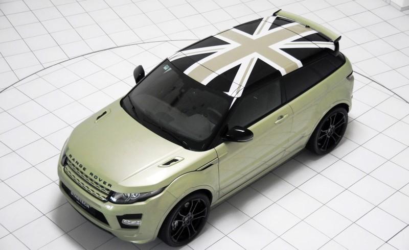 Six Custom BRABUS StarTech Range Rover Evoques Show Huge Style Gains 83