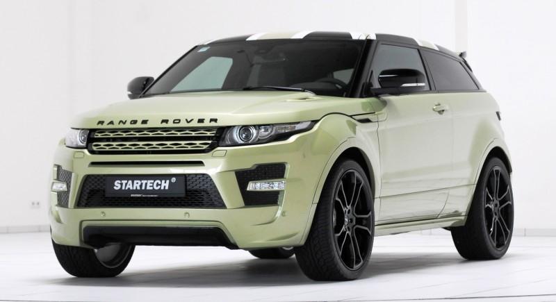 Six Custom BRABUS StarTech Range Rover Evoques Show Huge Style Gains 87