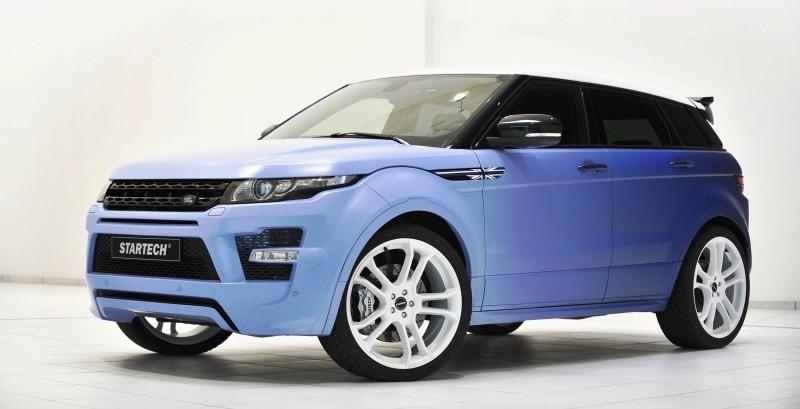 Six Custom BRABUS StarTech Range Rover Evoques Show Huge Style Gains 99