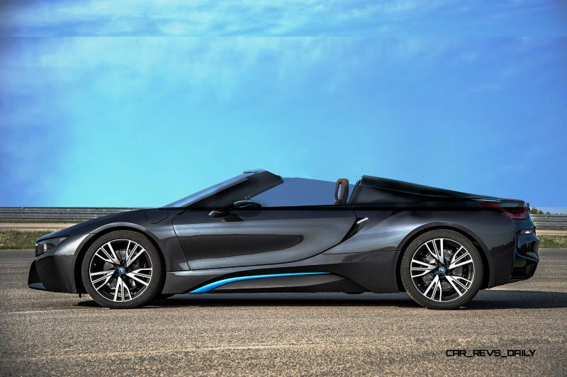 Spec Renderings - 2016 BMW i8 Spyder 3