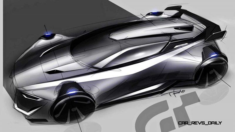 Subaru VIZIV GT Vision Gran Turismo 14