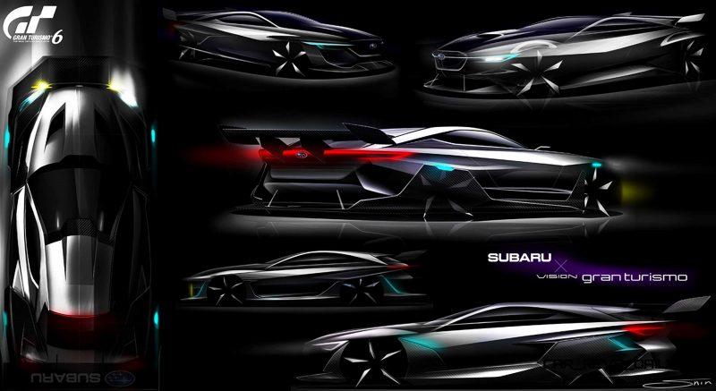 Subaru VIZIV GT Vision Gran Turismo 35