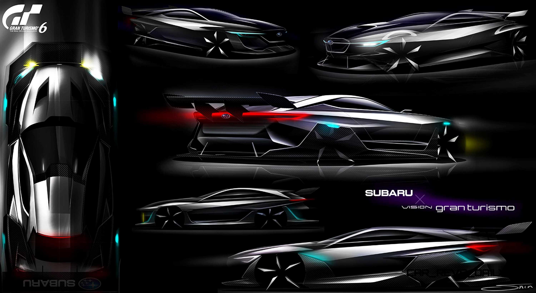 Subaru viziv gt vision gran turismo 35 sciox Gallery