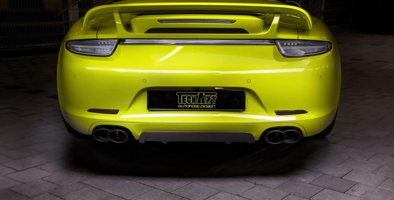 TechArt Porsche 911 Targa4 3