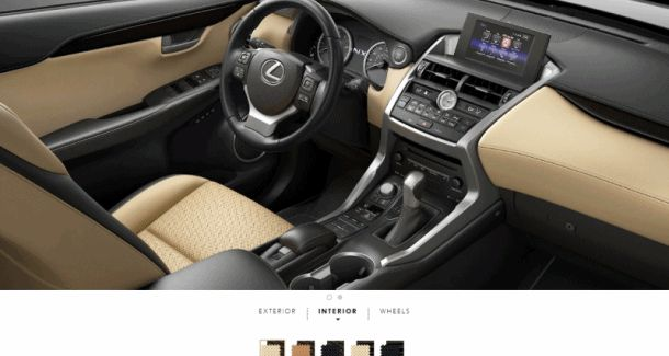 nx200t interiors