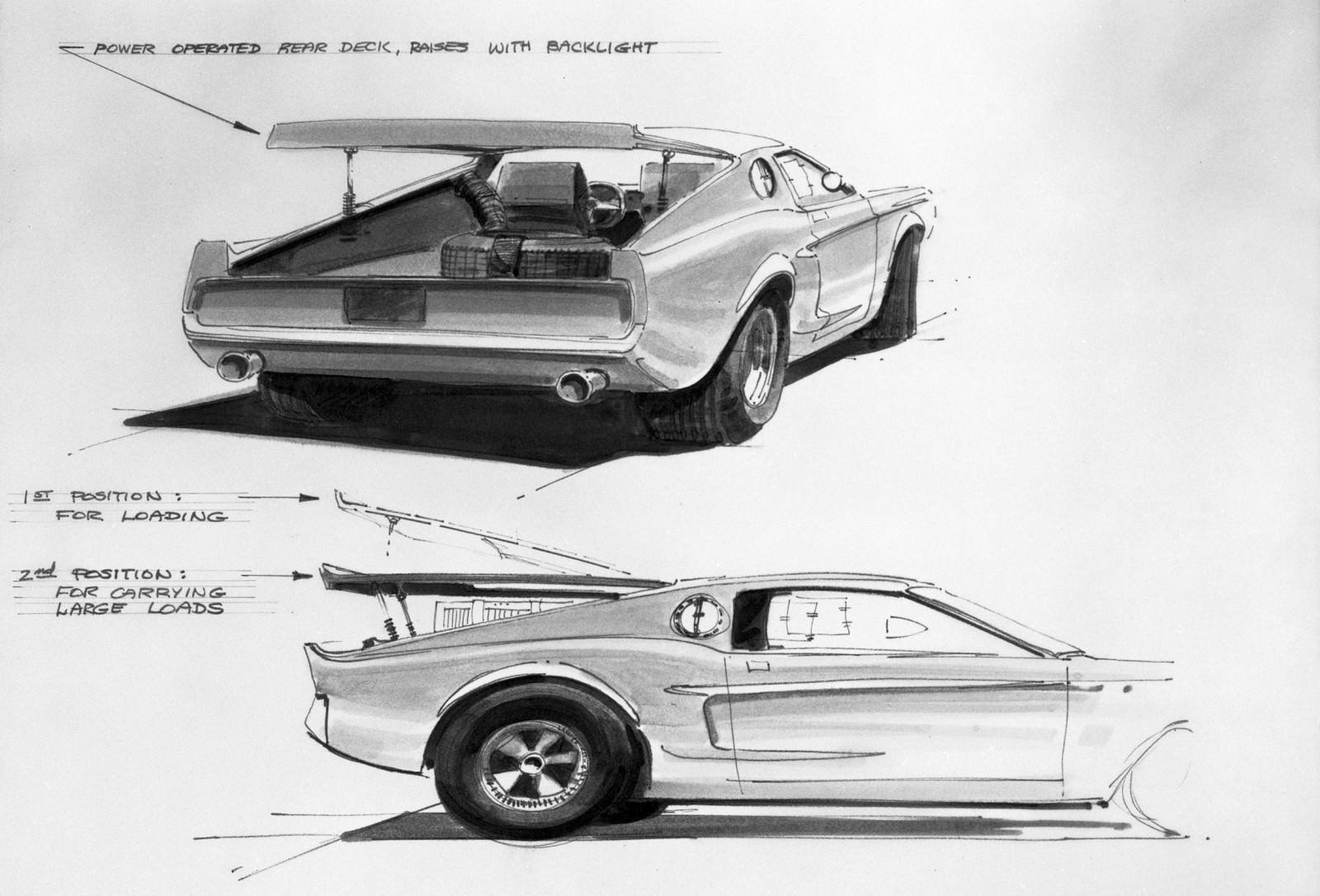 Future Car Renderings 2017 Ford Mustang Mach 1 6