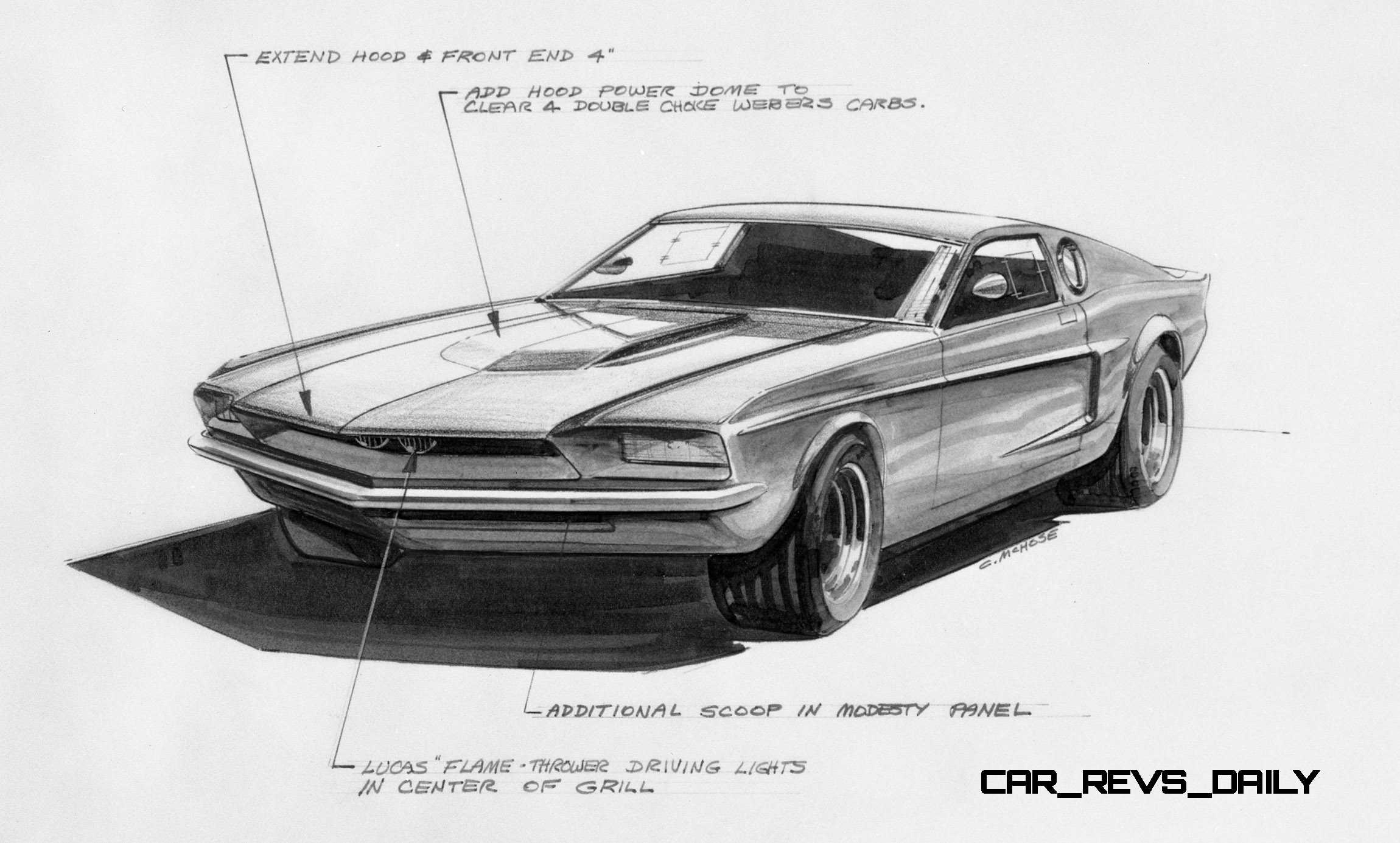 Ford Mustang Mach I Concept