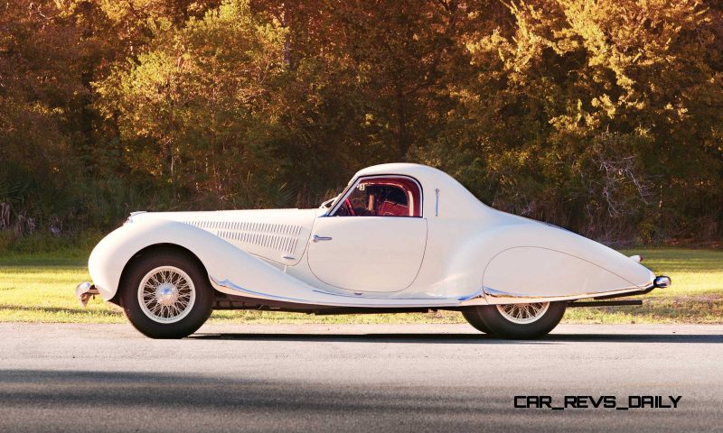 1938 Delahaye 135 MS Coupe by Figoni et Falaschi 5