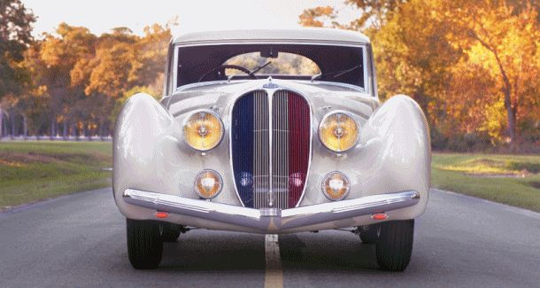 1938 Delahaye 135 MS Coupe by Figoni et Falaschi