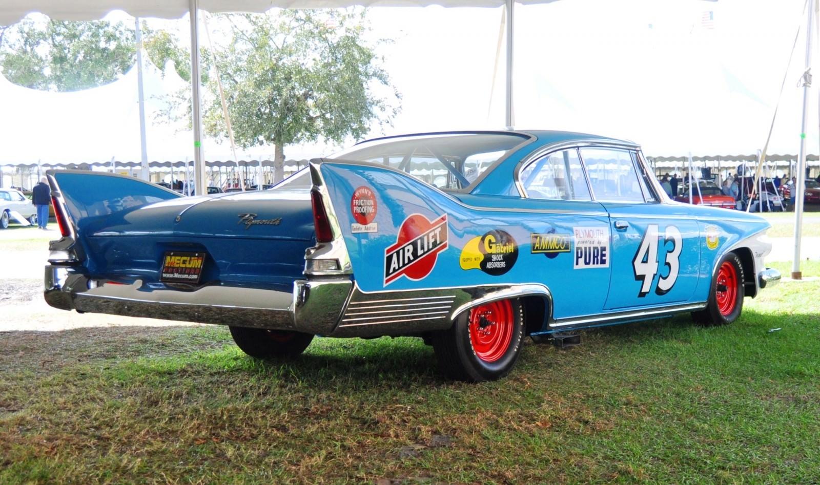 1960 Plymouth Fury NASCAR 12