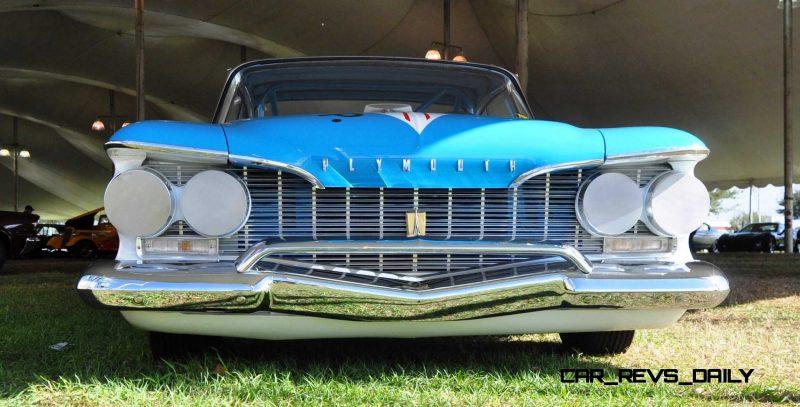 1960 Plymouth Fury NASCAR 22