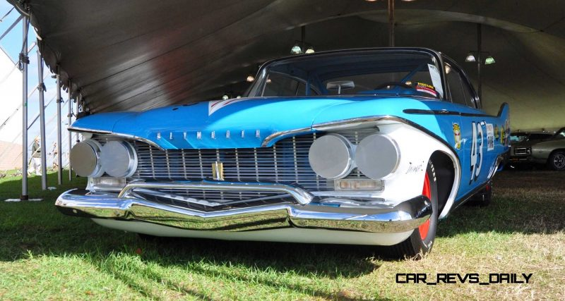 1960 Plymouth Fury NASCAR 26