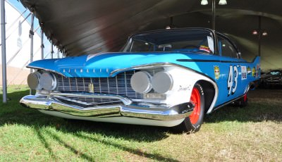 1960 Plymouth Fury NASCAR 27