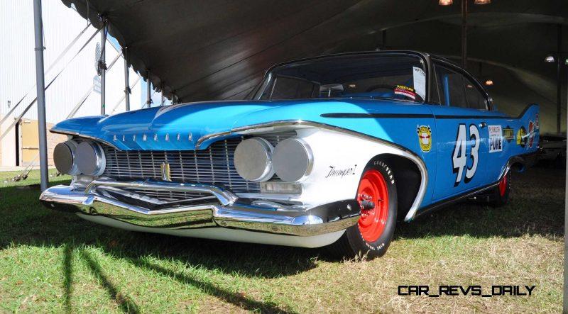 1960 Plymouth Fury NASCAR 28
