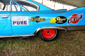 1960 Plymouth Fury NASCAR 33