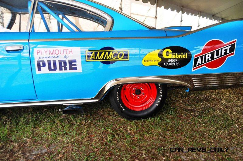 1960 Plymouth Fury NASCAR 33