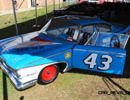 Mecum Florida 2015 – 1960 Plymouth Fury NASCAR Modified to Recreate Richard Petty's Daytona 500 Racer